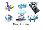 Hệ thống viễn thông - Thông tin di động