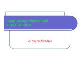 International settlement first review