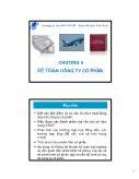 Kế toán, kiểm toán - Chương 5: Kế toán công ty cổ phần