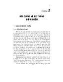 Lí thuyết điều khiển tự động - Chương 1: Đại cương về hệ thống điều khiển