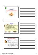 Nông nghiệp - Chương 9: Kiểm nghiệm trứng