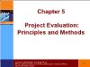 Tài chính doanh nghiệp - Chapter 5: Project evaluation: principles and methods