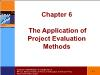Tài chính doanh nghiệp - Chapter 6: The application of project evaluation methods