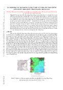 Xác định độ sâu mặt móng conrat khu vực phía bắc bồn trũng 2 sông Hồng theo phân tích tài liệu trọng lực
