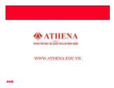 Bài giảng Các thiết bị mạng - Athena
