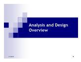 Bài giảng Hệ thống thông tin - Chương 3: Phân tích và thiết kế tổng quát