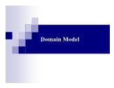 Bài giảng Hệ thống thông tin - Chương 4: Mô hình miền