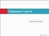 Bài giảng Lập trình Asp.Net - Phần 4.2: Validation Control - Nguyễn Hà Giang