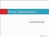 Bài giảng Lập trình Asp.Net - Phần 6: Forms Authentication - Nguyễn Hà Giang
