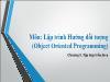 Bài giảng Lập trình Hướng đối tượng - Chương 5: Tập hợp trên Java