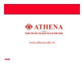 Bài giảng Mạng LAN - Athena
