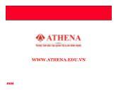 Bài giảng Mạng WLAN - Athena