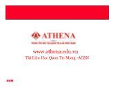 Bài giảng Tổng quan về mạng - Athena