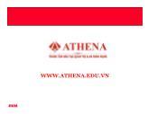 Bài giảng Tổng quan về Virus - Athena