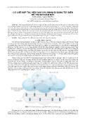 Cơ chế hợp tác hiệu quả cho mạng di động tùy biến hỗ trợ bởi đám mây