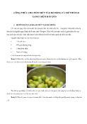 Công thức cho món mứt táo đỏ hồng và mứt bí đao xanh thêm hấp dẫn