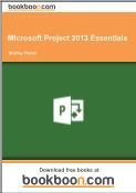 Giáo trình Microsoft Project 2013 Essentials - Shelley Fishel