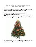 Trang trí góc làm việc công sở mùa giáng sinh