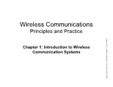 Wireless Communications Principles and Practice - Chapter 1: Introduction to Wireless Communication Systems