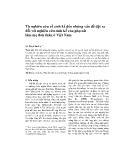 Từ nghiên cứu về sinh kế đến những vấn đề đặt ra đối với nghiên cứu sinh kế của phụ nữ làm mẹ đơn thân ở Việt Nam