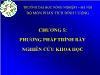 Bài giảng Phương pháp nghiên cứu kinh tế - Chương 5: Phương pháp trình bày nghiên cứu khoa học - Ngô Thị Thuận