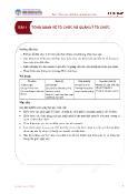 Bài giảng Quản trị học - Bài 1: Tổng quan về tổ chức và quản lý tổ chức - ĐHKTQD