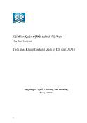 Dự thảo Báo cáo Cải thiện Quản trị Đất đai tại Việt Nam - Triển khai khung đánh giá quản trị đất đai (LGAF)