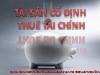 Bài giảng Tài sản cố định thuế tài chính - Nguyễn Hạnh Hà Anh