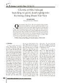 Cấu trúc sở hữu, hiệu quả hoạt động và giá trị doanh nghiệp trên thị trường chứng khoán Việt Nam