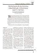 Định hướng tái cấu trúc thị trường chứng khoán gắn với tăng trưởng kinh tế ở Việt Nam