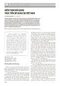 Kiểm toán hải quan: Thực tiễn áp dụng tại Việt Nam