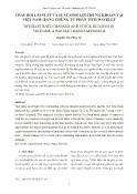 Thay đổi lãi suất và suất sinh lợi chứng khoán tại Việt Nam: Bằng chứng từ phân tích Wavelet