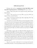 Tóm tắt Luận văn Giải pháp phát triển hoạt động TDBL tại ngân hàng TMCP Công thương Việt Nam – chi nhánh Đông Anh